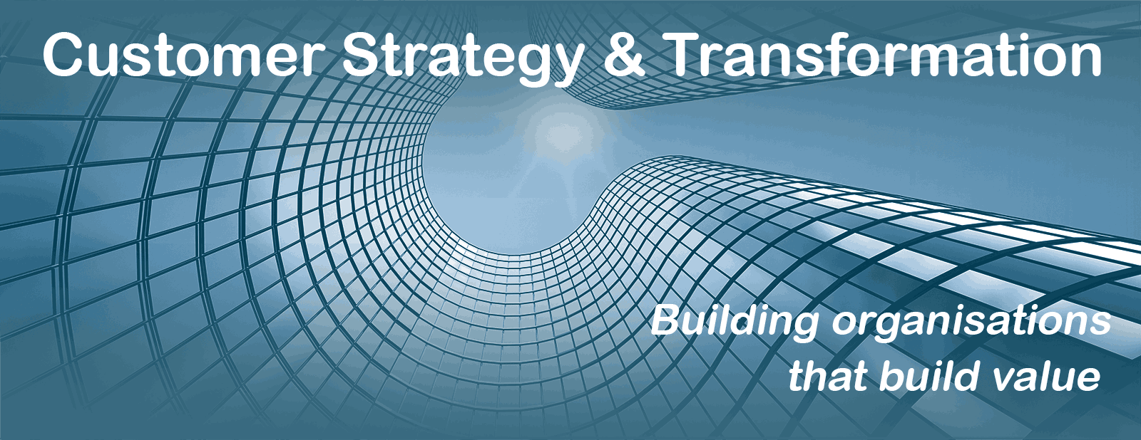 Customer Strategy & Transformation - Building organisations that build value